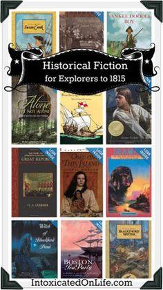 Historical Fiction Literature Picks (Veritas Press Explorers to 1815)