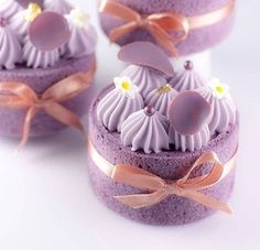 """""""Inspired by chef_fabrice_leblus . Beautiful Desserts, Fancy Desserts, Köstliche Desserts, Fancy Cakes, Cute Cakes, Pretty Cakes, Mini Cakes, Delicious Desserts, Cupcake Cakes"""