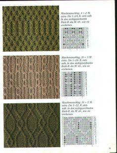 Burda 1990 4 Maschenmuster - Isabela - Knitting 2 - Picasa Web Albums