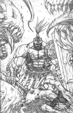#Hulk #Fan #Art. (Planet Hulk) By:Warpath28. (THE * 5 * STÅR * ÅWARD * OF: * AW YEAH, IT'S MAJOR ÅWESOMENESS!!!™)[THANK Ü 4 PINNING!!!<·><]<©>ÅÅÅ+(OB4E)