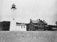 History of the Life Saving Station and Lighthouse at Crisp Point in Luce County, Michigan