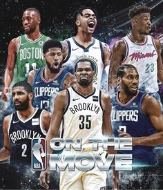 FreeAgency2019 #NBA Basketball Vines, Nba Basketball Teams, Basketball Scoreboard, Basketball Legends, Basketball Uniforms, Nba Pictures, Basketball Pictures, Nba Stars, Sports Stars