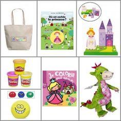 Coffret-cadeau enfant - ZAZOPACK+ TIWA PRINCESSE 2 ans + Maxi - Kid gift basket Princess 2 years - 75.50€