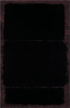 Untitled - Mark Rothko Completion Date: 1969 Style: Minimalism Genre: abstract painting Technique: oil Material: paper Gallery: San Francisco Museum of Modern Art, San Francisco, CA, USA