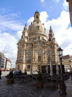 Dresdner-Bauten: Neumarkt Dresden - Impressionen August 2014