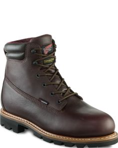 Redwing waterproof, steel toes....