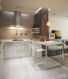 Студия для молодой семьи: интерьер, квартира, дом, современный, модернизм, 20 - 30 м2, студия #interiordesign #apartment #house #modern #20_30m2 #studio #atelier arXip.com