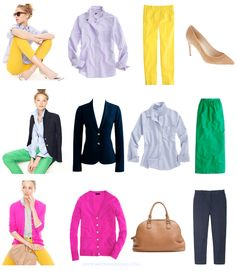color combinations for work