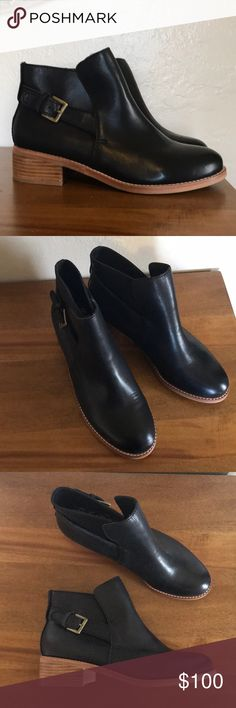 Gorman black leather boots. Never worn Never before worn black leather boots from boutique Australian clothing line Gorman. gorman Shoes Ankle Boots & Booties