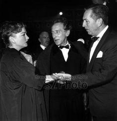 Ann Baxter, Jean Cocteau et Walt Disney Rue des Archives/AGIP/Süddeutsche Zeitung Photo