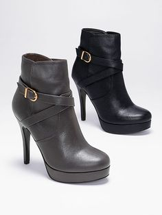 Criss-cross Strap Bootie VS Collection