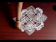 easy padi kolam designs for sankranthi || marghazi || pongal || bhogi || kanumu - YouTube Sankranthi Muggulu, Padi Kolam, Muggulu Design, Kolam Designs, Floor Art, Simple Rangoli, Colours, Youtube, Home Decor