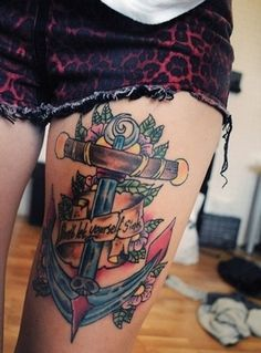 Refuse To Let Yourself Sink Anchor ⚓️