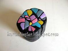 polimer kil, resin ve tebrik kartı yapımıyla ilgili hobi blogu