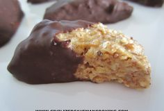 Almond coconut chocolate drops