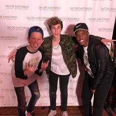 """17.9k Likes, 631 Comments - Sanni (@sanni) on Instagram: """"Ready to rock the stage with these 2 tonight  @jacobsartorius @hunterrowland"""""""