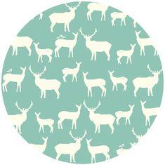 Jay-Cyn Designs for Birch Organic Fabrics, Elk Grove KNIT, Elk Fam Pool
