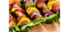 Eat Less Meat and Stay Satisfied: Fun Ideas for BBQ Skewers