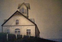 Sea House. Técnica mixta sobre madera 100 x 144 cm.