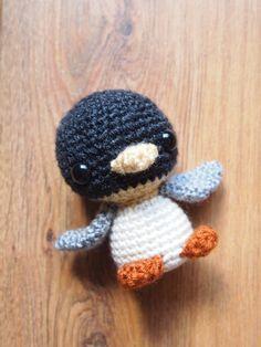 Arctic Penguin Amigurumi Crochet Doll Pattern by HamAndEggs, $1.99