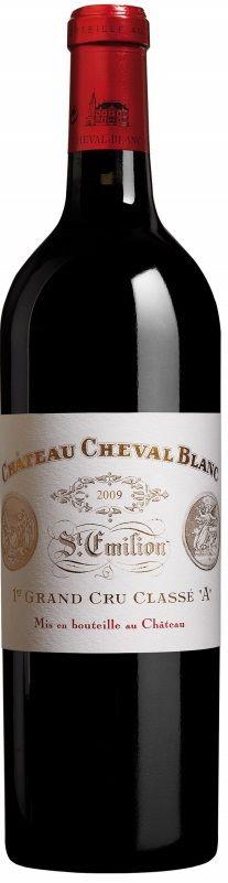 Merlot / Cabernet franc 2009 - Château Cheval Blanc, Bordeaux ----------------------- Terroir: Saint Émilion Grand Cru AOC (Libornais) - Bordeaux