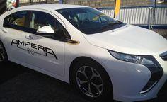Opel Ampera in Stockholm 2013.