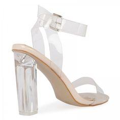 821ab5bd2e3 27 Best Heels images in 2017   Shoes heels, Clear strap heels, Heels