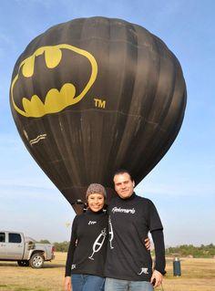 Vuelos en Globo MX #HotAirBallons #Batman #Amor