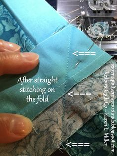 Easy sewing hacks are offered on our internet site. Read more and you wont be sorry you did. Quilting Tips, Quilting Tutorials, Machine Quilting, Sewing Tutorials, Sewing Hacks, Sewing Tips, Sewing Ideas, Beginner Quilting, Sewing Crafts