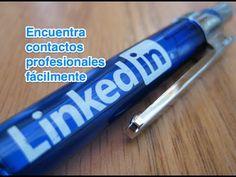 LinkedIN: Usar el buscador para encontrar buenos contactos profesionales (tutorial) - YouTube