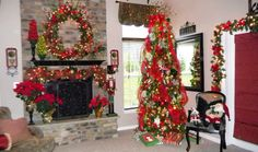 Savvy Seasons by Liz: ~*Christmas Tree Tour*~
