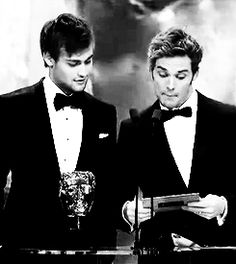 sam claflin and douglas booth! two very handsome brits ;)