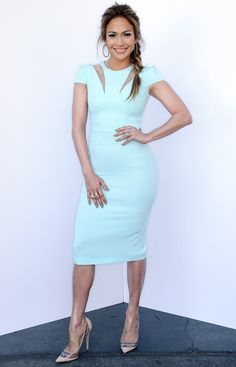 Jennifer Lopez's Head-to-Toe Looks From American Idol - March 19, 2014 from #InStyle