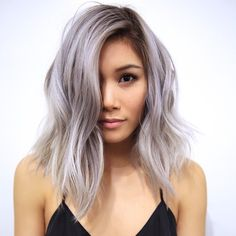A-line textured cut from Anh Co Tran via Instagram