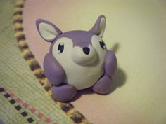 Another fan-made Charm! This is a Wolf Squishable Polymer Clay Charm prototype by ~ChibiSayuriEtsy! #plush #fashion