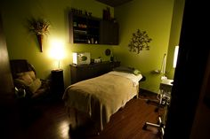 Aveda facials, body treatments and massages will do a body good... One of our relaxing spa rooms in Coppell