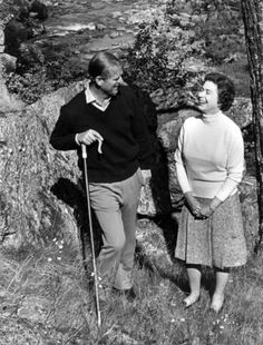 ladymollyparker:  Duke of Edinburgh and Queen Elizabeth