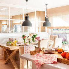 Esta cocina quería vida social… ¡y lo ha conseguido!
