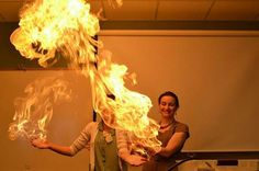 I love how a woman can always light my fire <3