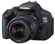 12 Great Advanced Cameras for Under $500: Canon EOS Rebel T3i DSLR