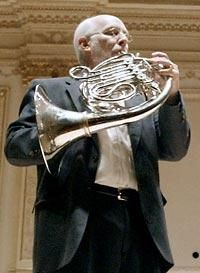 Barry Tuckwell and his French Horn.