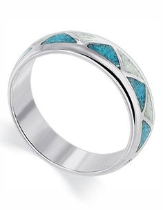 Sterling Silver Turquoise and Mother of Pearl « Holiday Adds