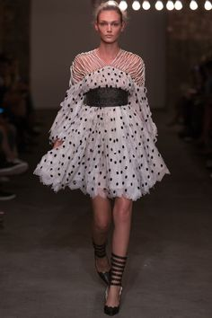 Zimmermann Spring 2016 Ready-to-Wear Fashion Show... What a fun dress. Wearing this would make you the life of the party