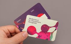 Print created by Bielke+Yang featuring illustrative work by MVM for science centre Vitenparken