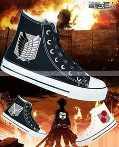 e1ace739742d Attack on Titan Shoes hand painted shoes Custom Converse Shoes painted
