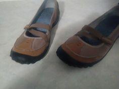 Privo Size 10 Maryjane Brown Suede Slip-on #PrivobyClarks #MaryJanes #WeartoWork
