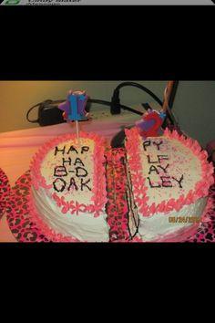 Half Birthday Cake half bday Pinterest Babies Nottingham
