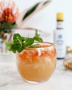 Pineapple-Coconut Rum Barrel Cocktail Recipe / Liquorary for Oh So Beautiful Paper #tiki #cocktails #drinks