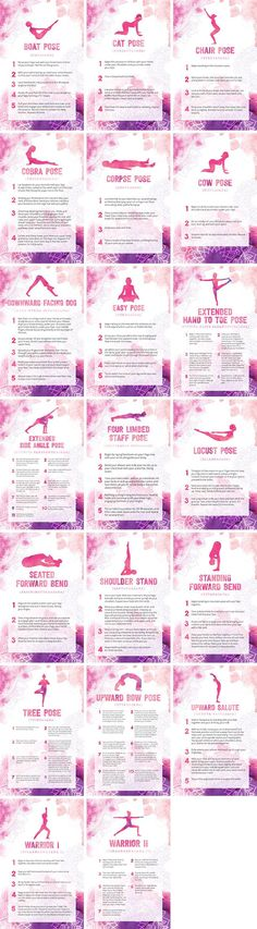 Beginner Yoga Poses Bundle By Healthinomics