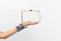 DIY Balenciaga Inspired Wire Clutch